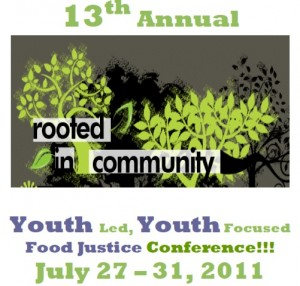 Rooted in Community Conference banner