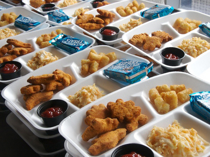 fast food in school cafeterias Food service managers work in restaurants, hotels, school cafeterias, and other establishments where food is prepared and served they often work evenings, weekends, and holidays the work can be hectic, and dealing with dissatisfied customers can be stressful.