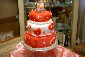 One of Pam Thornton's signature pound cakes (photo from Pound Cake Heaven's website)