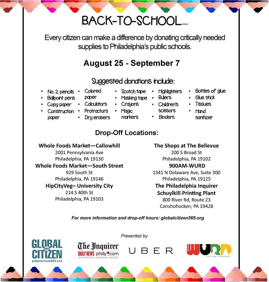 Back to school giveaways in baltimore