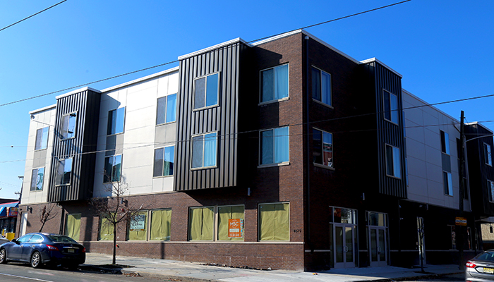 High Quality New 3 Story Apartment Building With Ground Floor Retail Space At 4619  Woodland Avenue (photos West Philly Local).