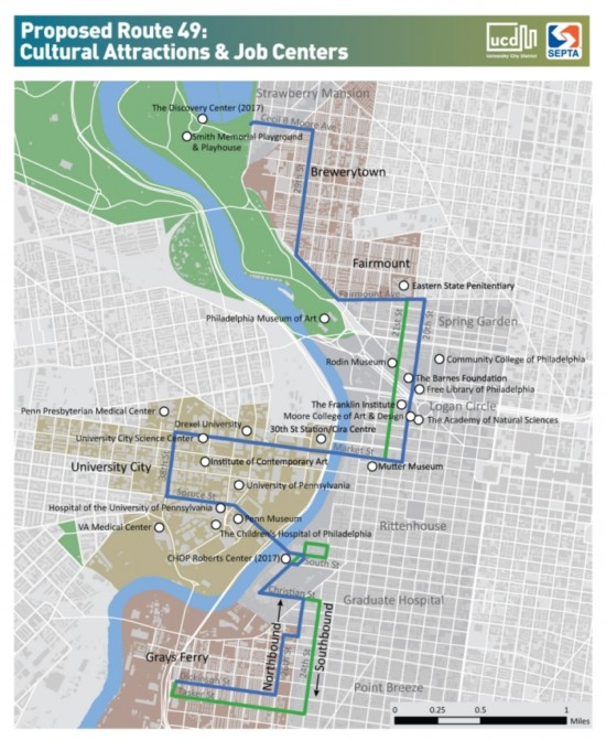 SEPTA Presents Plans On New Bus Route Through University City - Philly septa map